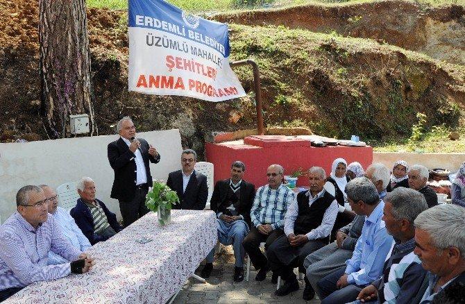 Üzümlü'de 'Şehitleri Anma' Programı