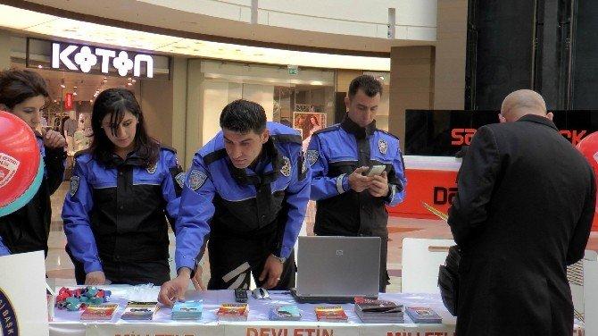 Gaziantep İl Emniyet Müdürlüğü Sankopark'ta Stant Açtı