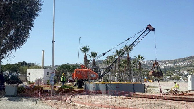 Gündoğan Terfi Merkezi Yeraltına Alınıyor