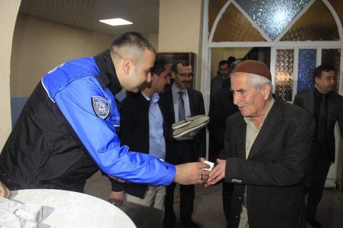 Hakkari'de Şehit Polisler İçin Mevlit Okutuldu