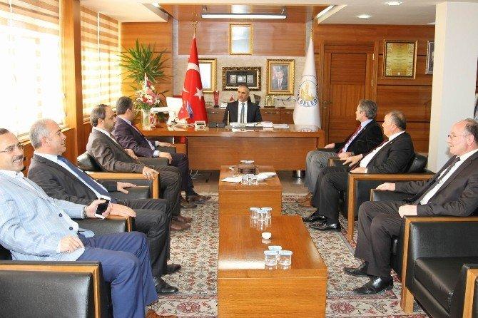 İl Genel Meclisi Üyelerinden, Başkan Aydın'a Ziyaret