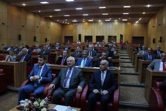 Vali Barut, İl Genel Meclisi Toplantısına Katıldı