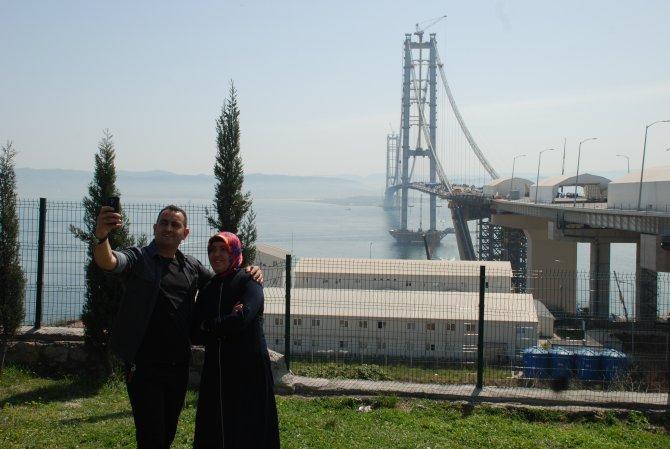 İzmit Körfez Geçiş Köprüsü'nde sona yaklaşıldı