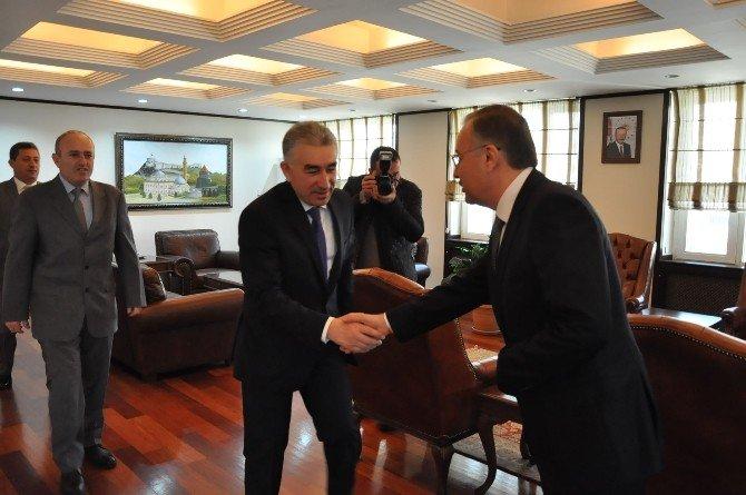 Kars Emniyet Müdürü Karaduman'dan Vali Özdemir'e Ziyaret