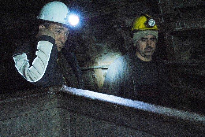 Amasyalı Madenciler 2 Haftadır Eylemde