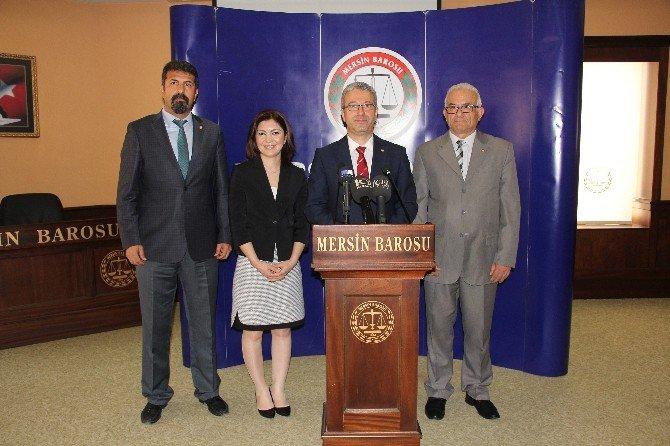 """Antmen: """"Türkiye'nin TEK Emniyet Sübabı Barolardır"""""""