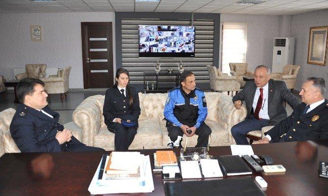 Bozüyük Emniyet Müdürlüğü'nden Başkan Vekili Turgut'a Ziyaret