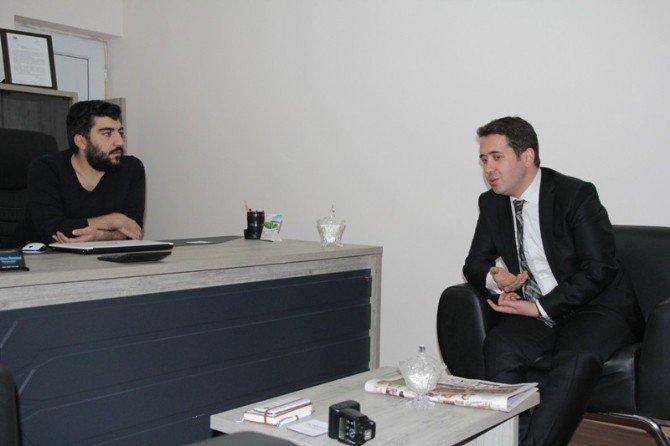 Sağlık Müdürü Yanmaz'dan Basın Kuruluşlarına Ziyaret