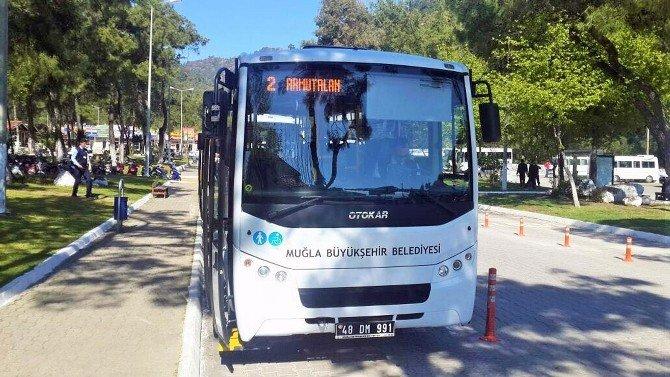 Büyükşehir, Marmaris'te Otobüs Seferlerini Arttırıyor