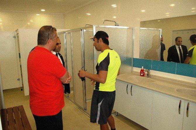 Bodrum'daki Spor Merkezleri Denetim Altında