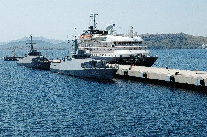 Bodrum'a İlk Turist Kafilesi Deniz Yolu İle Geldi