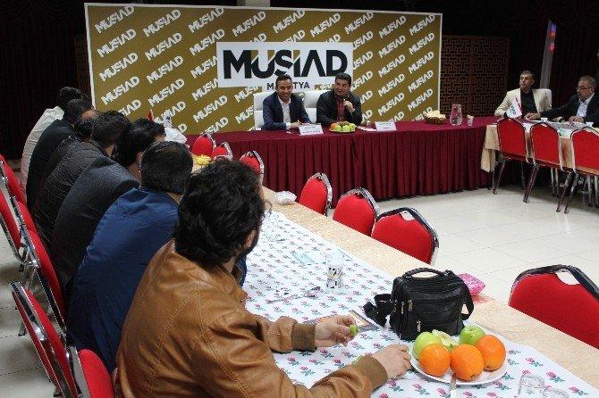 MÜSİAD Üyelerine Kobigel Bilgilendirme Toplantısı Yapıldı