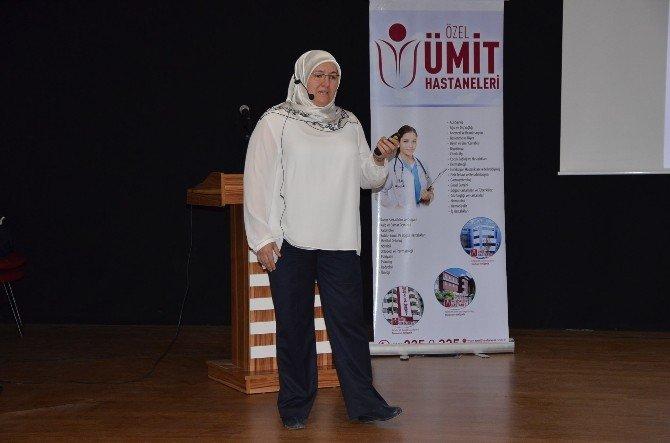 """Bozüyük'te """"Rahim Ağzı Kanseri"""" Ve """"Meme Kanseri"""" Anlatıldı"""
