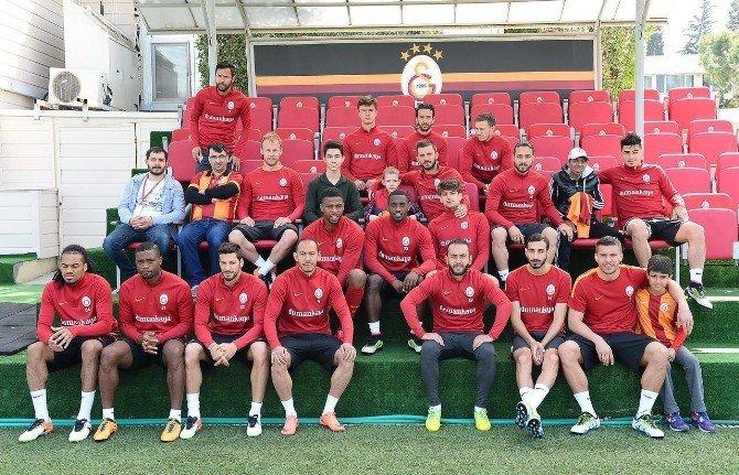 Kanser Hastası Gencin Galatasaray Sevgisi