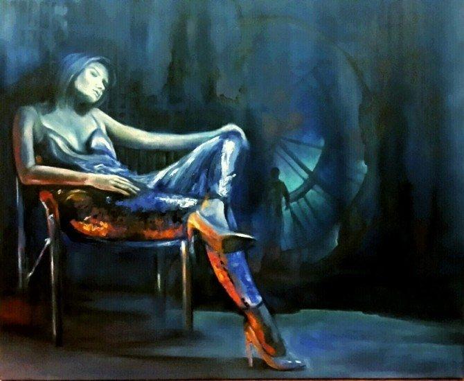 """Burcu Salman: """"Resim Yapmak, İnsana Sayısız Fayda Sağlar"""""""