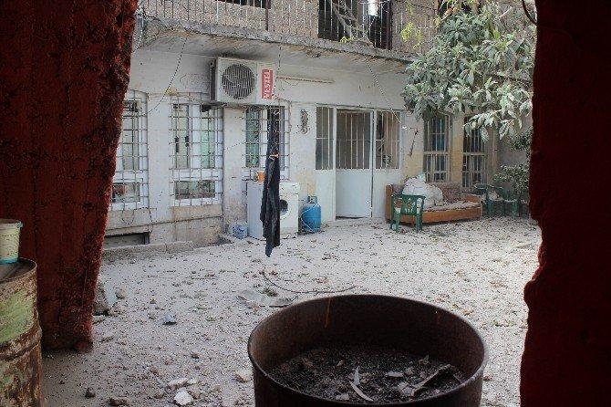 TSK, IŞİD Mevzilerini Ateş Altına Aldı
