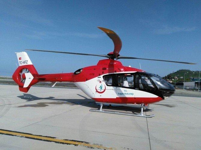 Ambulans Helikopterler 8 Aylık Bebek İçin Seferber Oldu