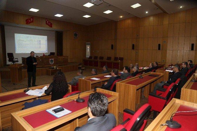 İl Özel İdaresi Personeline AB Proje Hazırlama Eğitimi Verildi