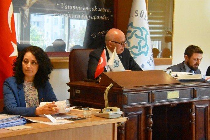 Süleymanpaşa Belediye Meclisi Başkan Vekili, Katibi Ve Encümeni Seçimi Yapıldı