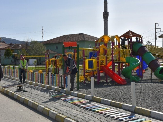Turhal Belediyesi Park Ve Bahçe Çalışmaları