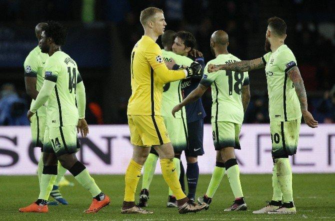 Manchester City, Fransa'dan Avantajlı Dönüyor