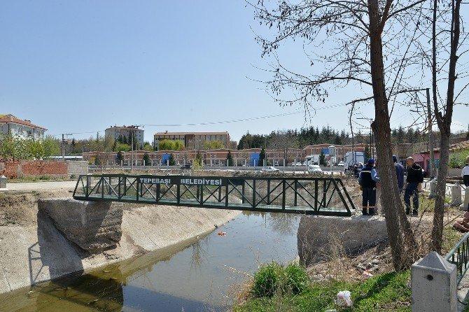 Tehlike Oluşturan Köprü Değiştirildi