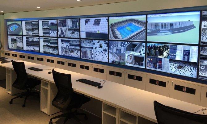 BJK Vodafone Arena'nın güvenlik ve otomasyon tanıtımı yapıldı