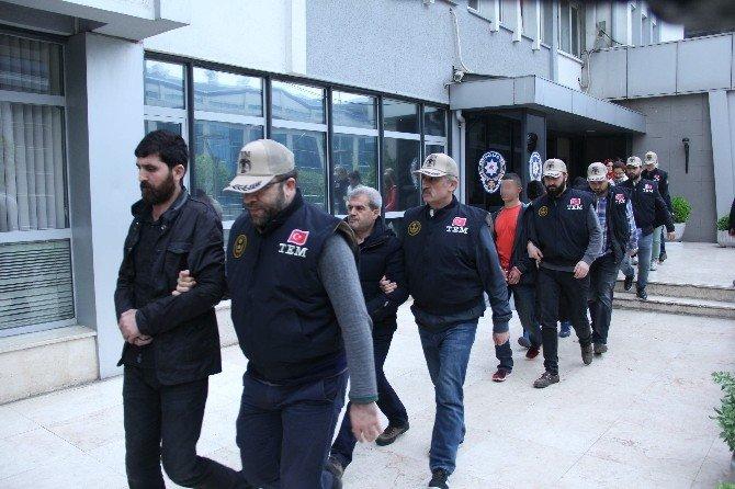 Bursa'da Terör Operasyonunda 13 Gözaltı