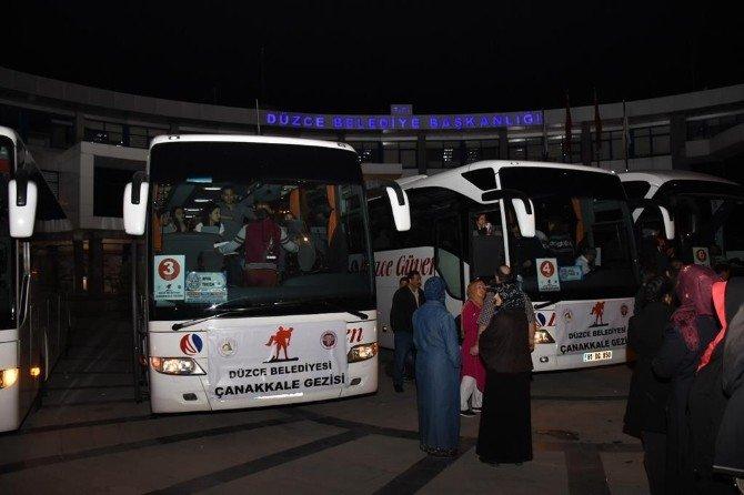 Düzceli 315 Öğrenci Çanakkale'de