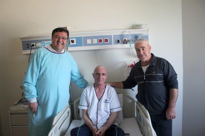 Brezilyalı donörden Türk lastik tamircisine hayat aşısı