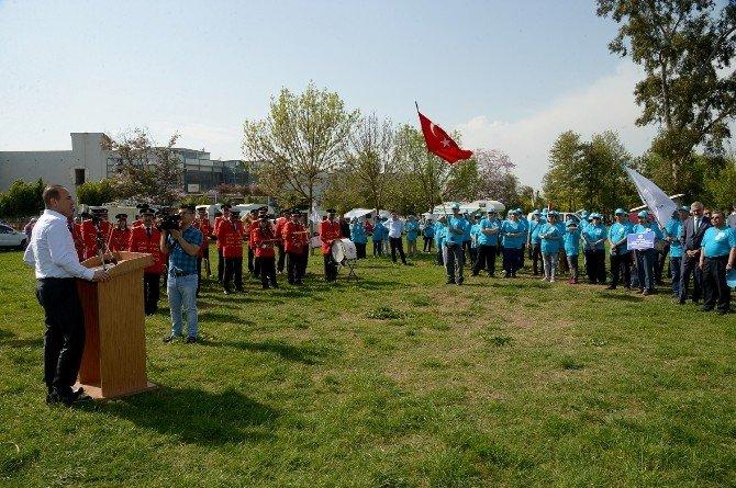 Sözlü, Karavan Rallisini Adana'dan Başlattı