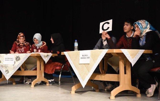 Ahlat'ta Liseler Arası Siyer Bilgi Yarışması