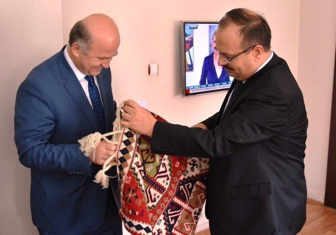 AK Parti Bursa Teşkilatından Güneydoğuya Moral Ziyareti