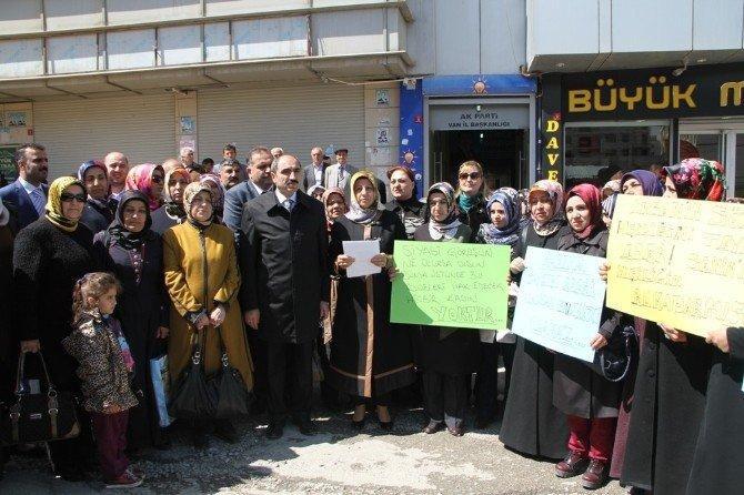 AK Partili Kadınlardan Kılıçdaroğlu'na Tepki