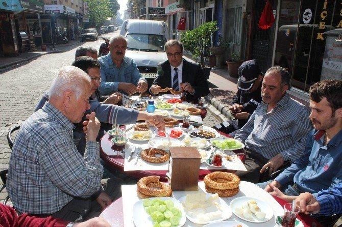 Başkan Karaçoban'dan Esnaf Ziyareti