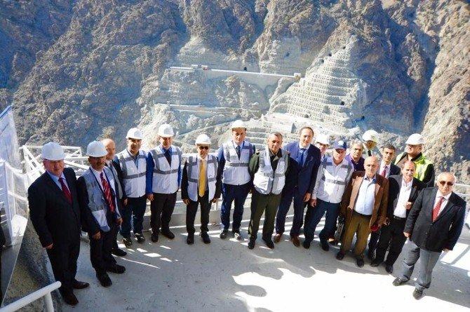 Yusufeli Barajı'nın 3 Yıl İçerisinde Tamamlanması Hedefleniyor