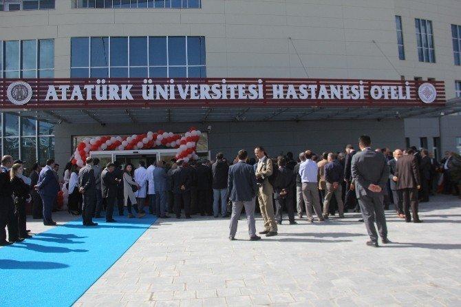 11 İle Hizmet Verecek Atatürk Üniversitesi Hastanesi Oteli Açıldı