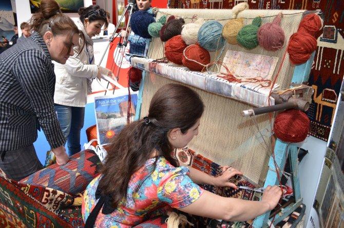 Bakü'de düzenlenen Uluslararası Turizm ve Seyahat Fuarı büyük ilgi gördü