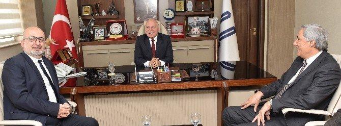 DT Genel Müdürü Birecik, Başkan Sekmen'i Ziyaret Etti