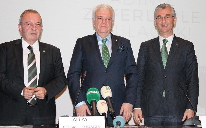 Bursaspor, 'Formana İsmini Yazdır' Projesini Hayata Geçiriyor