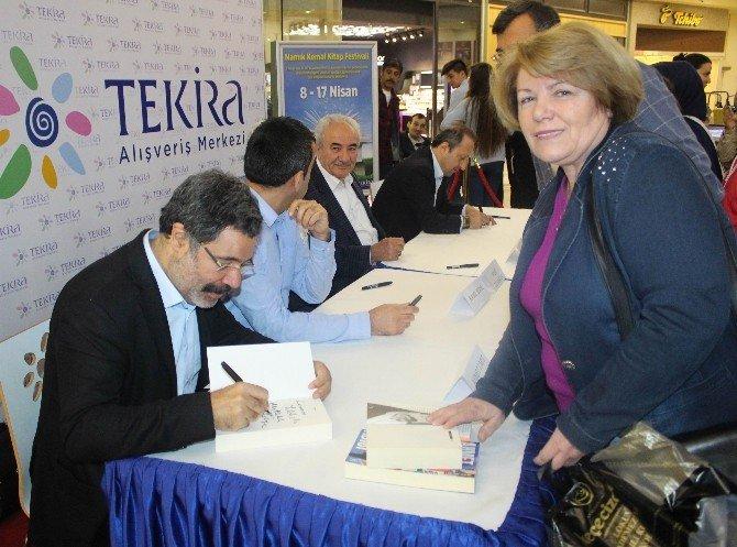 Ünlü Yazar Ahmet Ümit, Namık Kemal Kitap Festivali'nde