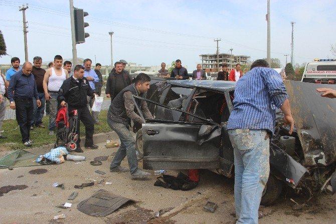 Çarşamba'da Trafik Kazası: 3 Yaralı