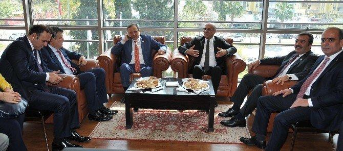 CHP'li Bingöl Ve Torun Adana'da