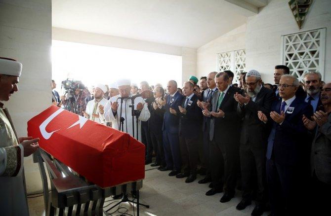 Erdoğan, şehit Binbaşı Karaman'ın cenaze törenine katıldı