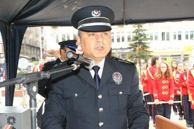 Devrek Emniyetinden Türk Polis Teşkilatının 170. Kuruluş Yıl Dönümü Etkinliği