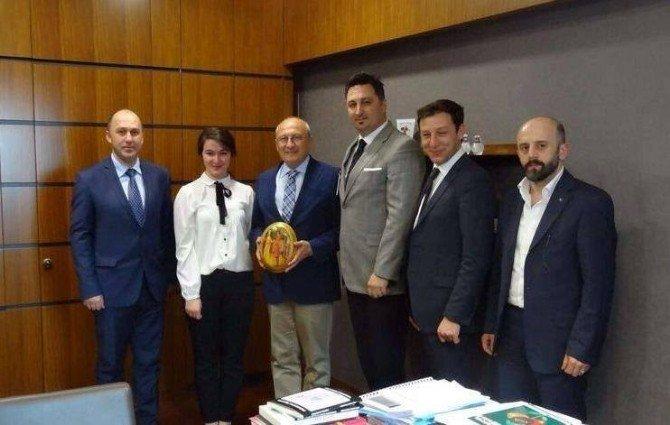 Eskişehir Kuzey Kafkas Kültür Ve Dayanışma Derneği'nden Vekillere Ziyaret
