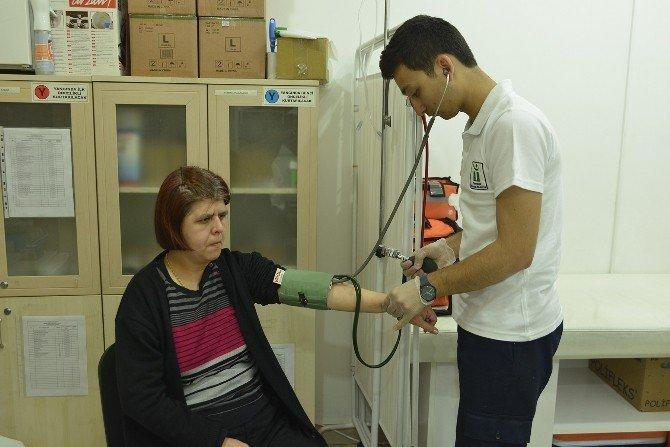 Engelli Bireyler Sağlık Kontrolünden Geçti