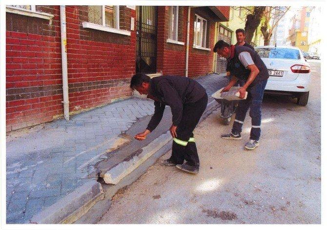 Odunpazarı Belediyesi Çalışıyor