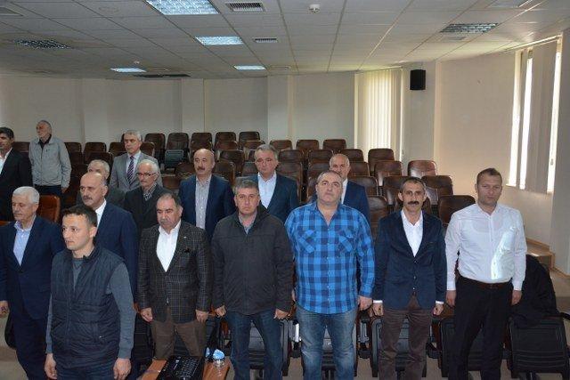 Hasan Ali Yanmaz Meclis'e Başkanlık Etti