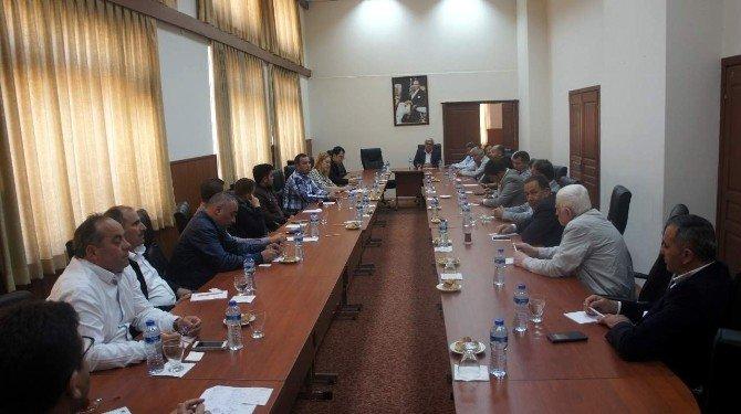 Aydın Ticaret Borsası Üyeleri 'Kuru İncir Satış Salonu' İçin Buluştu